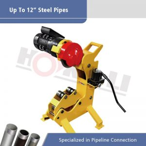 QG12C No Spark Hydraulic Power Pipe Cutter for Max 12″ Steel Pipes