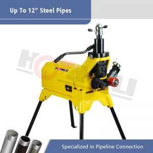 YG12E Hydraulic Pipe Grooving Machine for Max 12″ Steel Pipes